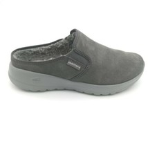 Skechers On The Go Joy Womens Snuggly Lined Clogs US Size 8.5W Charcoal  - $39.59