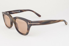 Tom Ford Snowdon Brown Horn / Brown Sunglasses TF237 62J 50mm - $224.42