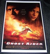 Ghost Rider 11X17 Movie Poster Nicholas Cage Mendez - $21.00