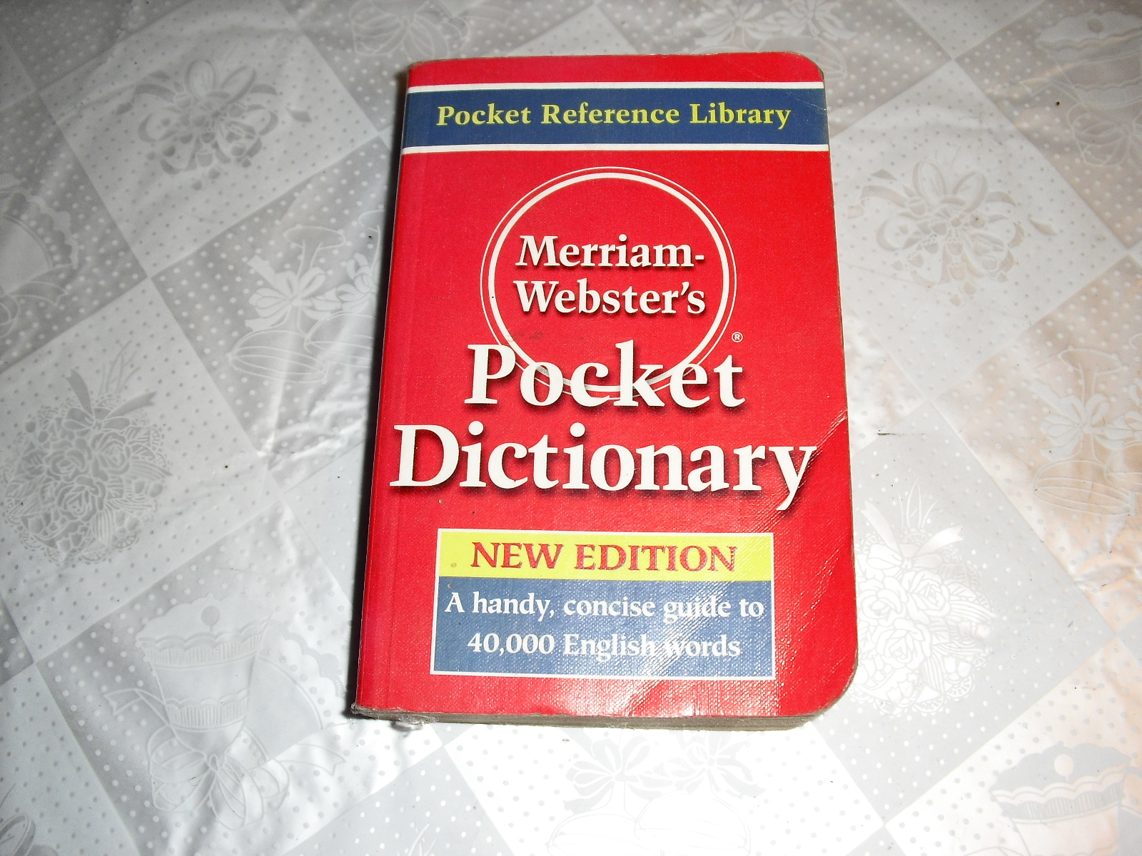 merriam  websters  pocket  dictionarycket