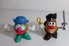 Mr. Potato Head little spuds Captain Hook and Funny Lady Girl w hat - $18.95