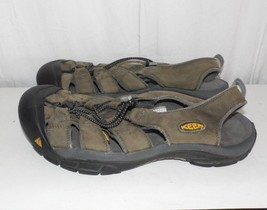 Keen Brown Leather Waterproof Sports Sandals Men's Size 11.5 - 12 - $19.71 CAD