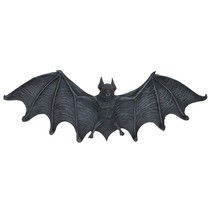 Key Hook Rack - Vampire Bat Key Holder Wall Sculpture: Large - Bat Figur... - $1.228,66 MXN