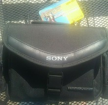 Sony LCS-VA31 Soft Carrying Case for most Sony Camcorders 8x12 Size With Tag - $29.69