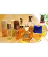 9 Bottles Perfume Cologne BLUE HAWAII CALIENTE EMERAUDE WIND SONG MUSK B... - $39.00