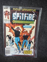Marvel Comic Book Spitfire and The Troubleshooters 6 March 1987 Near Mint - $1.34