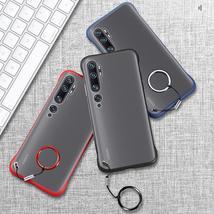 Bakeey for Xiaomi Mi Note 10 Lite Case Frameless Ultra Thin Matte with Finger Ri - $15.99