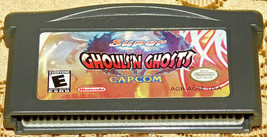 Super Ghouls 'N Ghosts Gameboy Advance Game Boy GBA Authentic Rare Hard ... - $42.02