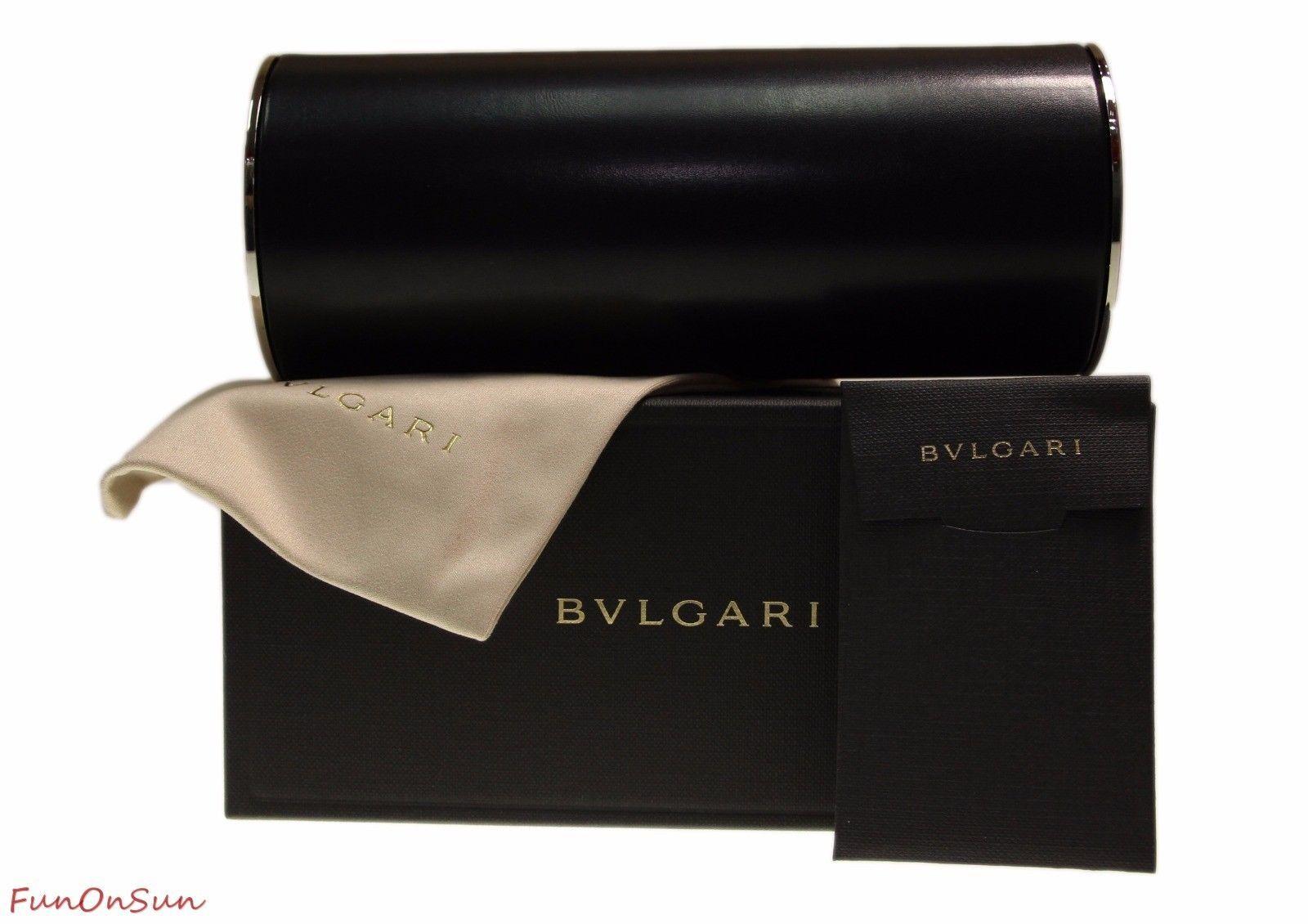 BVLGARI Round Women's Sunglasses BV6096 20321A Matte Plum/Violet Lens 58mm