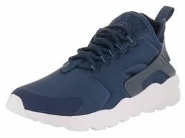 Nike Women's Air Huarache Run Low-Top Athletic Shoes Size 8.5 Navy/Blue/... - £95.18 GBP
