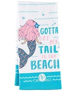 "Kay Dee Designs Southern Couture Mermaid Double Duty Kitchen Towel, 18"" ... - $10.99"