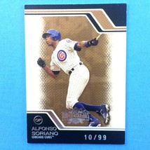 Alfonso Soriano 2008 Topps Triple Threads Gold Parallel Serial Number Ca... - $3.91