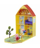 Peppa Pig Home Briefcase Of Set Home And Garden Includes Figure And George - $275.82