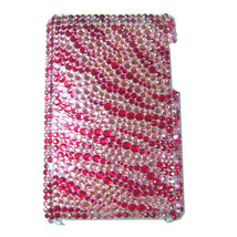 BLING PINK ZEBRA SHELL COVER CASE for iPod Touch 3G 3rd - $9.49