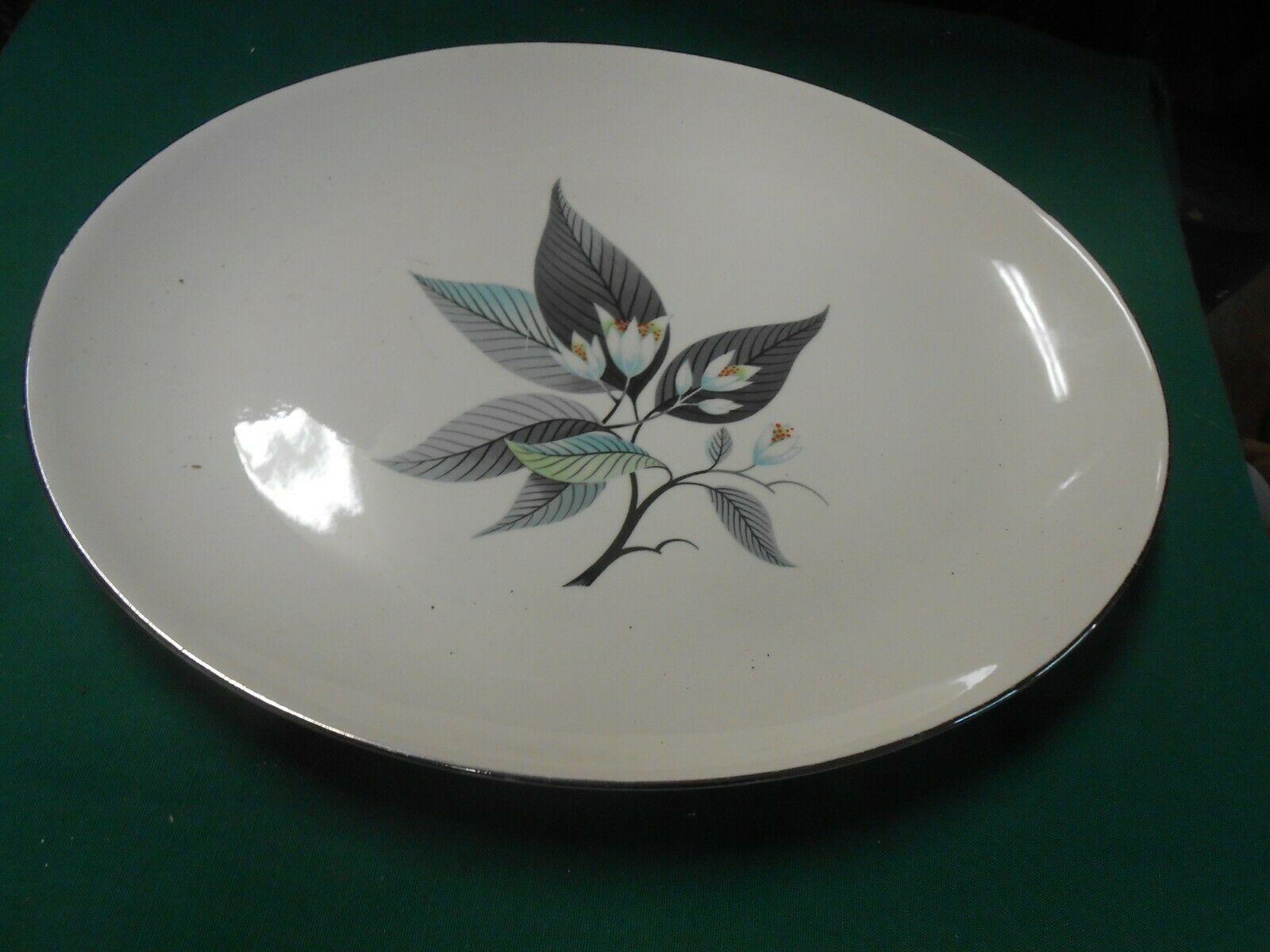 "Primary image for Beautiful HOMER LAUGHLIN ""Rhythm"" .....PLATTER 13.5"" x 10.75"""