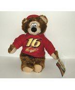 1/2 Price! Nascar 16 Greg Biffle Plush Hoodie Bear NWT - $6.00