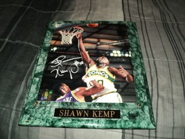 Shawn Kemp Signed Autographed 8x10 Framed Photo COA - £22.68 GBP