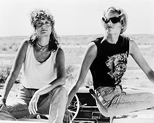 Geena Davis Susan Sarandon Thelma & Louise 16x20 Canvas 1966 Thunderbird Car