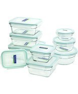 18-Piece Assorted Glass Oven Safe Container Set - $67.81 CAD