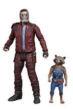 DIAMOND SELECT TOYS Marvel Select Guardians of The Galaxy 2 Star-Lord & ... - $26.93