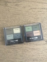 JANE Zing Carry Along Eye Shadow 4 Color Palette 04 Blues 10 Greens NEW ... - $19.59