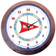 "Mopar Arrow Neon Clock 15""x15"" - $69.00"