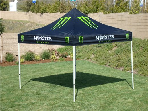 Monster Energy Canopy Ez Up Top 10 X 10 Other