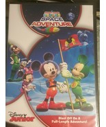 Mickey Mouse Clubhouse Space Adventure DVD Disney Junior Stickers NIP - $13.37