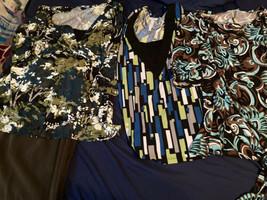 Ladies Tops/jeans/capri 6 Pc Lot Size 20/2x Cato Lee Venezia - $14.84