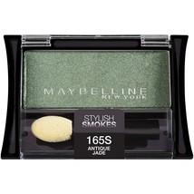 Maybelline New York Expert Wear Eyeshadow Singles, Antique Jade 165 High... - $5.99