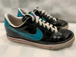 Nike Sweet Classic Women's Size 9 Black Teal 354496-031 Umberto Raffini Insoles - $26.72