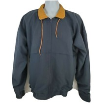 D'amargene Mens Jacket Size XL Vintage Navy Blue Golf Windbreaker Zip Up... - $22.76