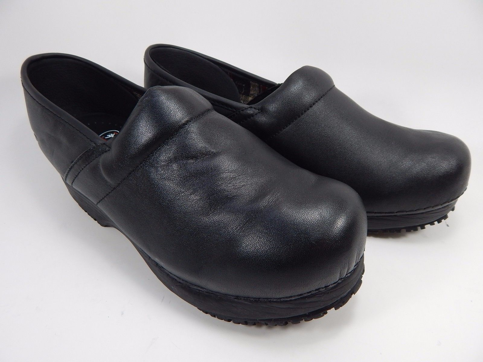 Skechers Tone-Ups Women's Work Slip Resistant Clogs Shoes 8 M (B) EU 38 Black