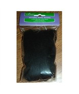 Clover Black Wool Roving - $3.50