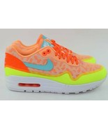 NIKE WOMAN AIR MAX 1 NS SIZE 8.0 NEW RUNNING TROPICAL RARE AUTHENTIC - $128.69