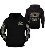 Camo Chevy Girl Hoodie Sweatshirt - $39.99