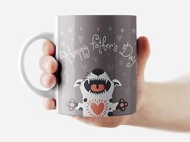 Happy Father's Day Mug Funny Rude Quote Coffee Mug Cup Q185 - $12.20+