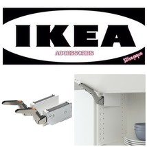 IKEA Utrusta Horizontal Cabinet Door Hinges WHITE 404.654.17 - $79.99