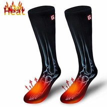 Rechargeable Electric Heated Socks,Men Women Battery Powered Heated Sock... - $59.63