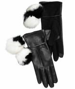Echo Colorblocked Pom-Pom Gloves (Black, M) - $49.38