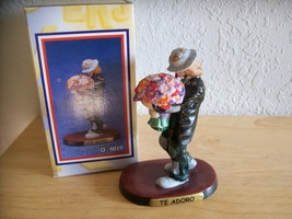 "1998 Emmett Kelly JR. ""Te Adoro"" Figurine (9019)  - $30.00"