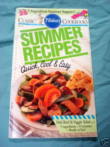 Primary image for 1994 Pillsbury Classic Cook Book #161 Summer Recipes