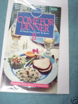 1988 Pillsbury Classic Cook Book #95 Come For Dinner II - $7.99