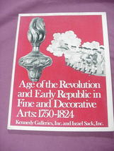 Age of the Revolution and Early Republic 1977 Catalog - $14.99