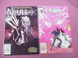 Krull Marvel Comics 1983 Movie Adaption #1, #2 - $10.99