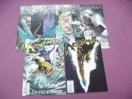 7 Aquaman DC Comics #1 thru #4, #6, #22, #23 - $14.99