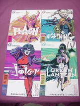4 Tangent Comics Flash 1, Joker 1, Green Lantern 1 - $14.99