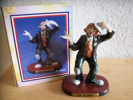 "1998 Emmett Kelly JR. ""I'm Sorry"" Figurine (9011).  - $30.00"
