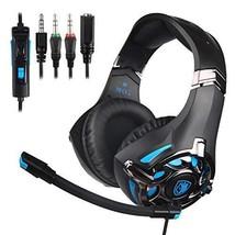 PS4 Xbox One Gaming Headset, SADES SA822 PC Gaming Headphone Stereo Sound - $40.49