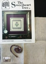 The Sweetheart Tree Cross Stitch Patterns Bridal Sampler Carnation Sampler  - $8.08+